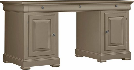 SELVA Schreibtisch »Constantia«, Modell 6500, furniert in vier schönen Holzfarben