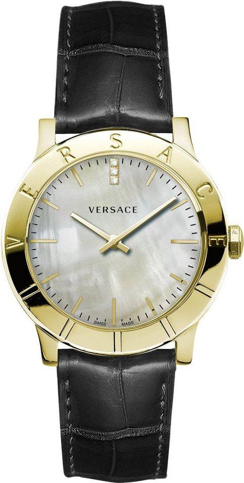 Versace Schweizer Uhr »Acron, VQA060017« | Uhren > Schweizer Uhren | Schwarz | Versace