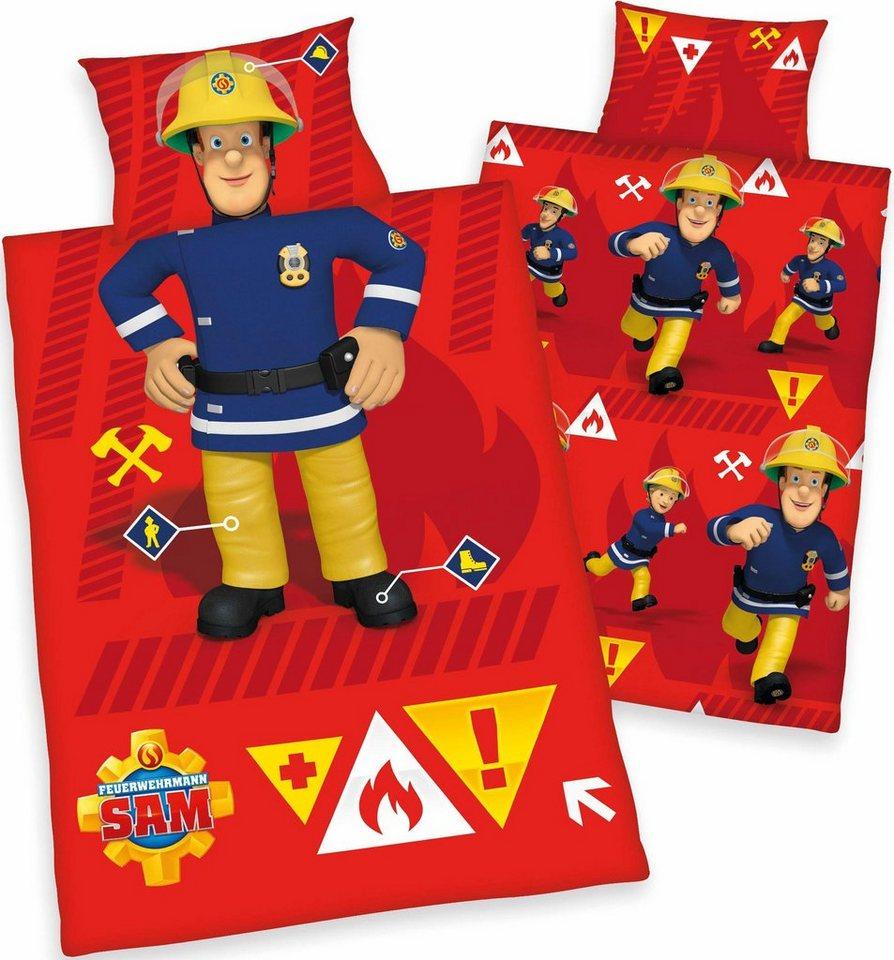 Kinderbettwasche Feuerwehrmann Feuerwehrmann Sam Mit Motiv
