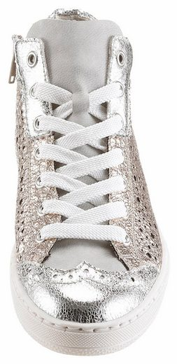 Rieker Sneaker, im Metallic-Look