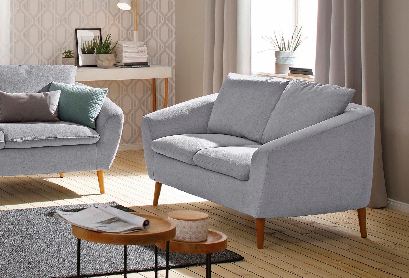 Home affaire 2-Sitzer »Amadeo« im skandinavischem Design, lose Rückenkissen jetztbilligerkaufen