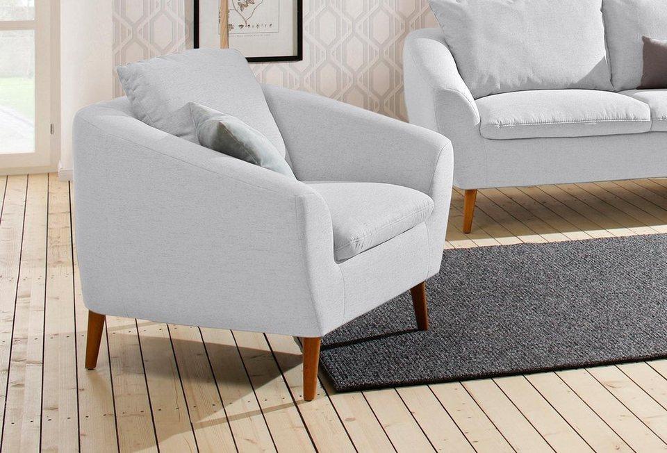 home affaire sessel amadeo im skandinavischem design. Black Bedroom Furniture Sets. Home Design Ideas