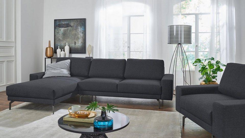 hülsta sofa Ecksofa hs 450 mit kubischer Armlehne Breite 294 cm online kaufen