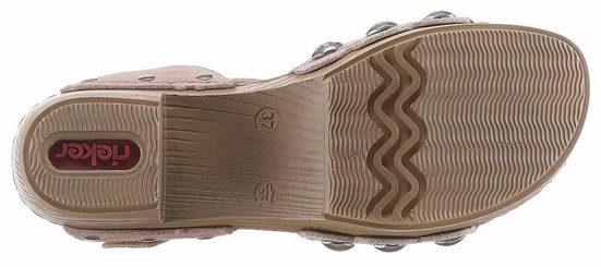 Rieker Sandalette, mit Nieten