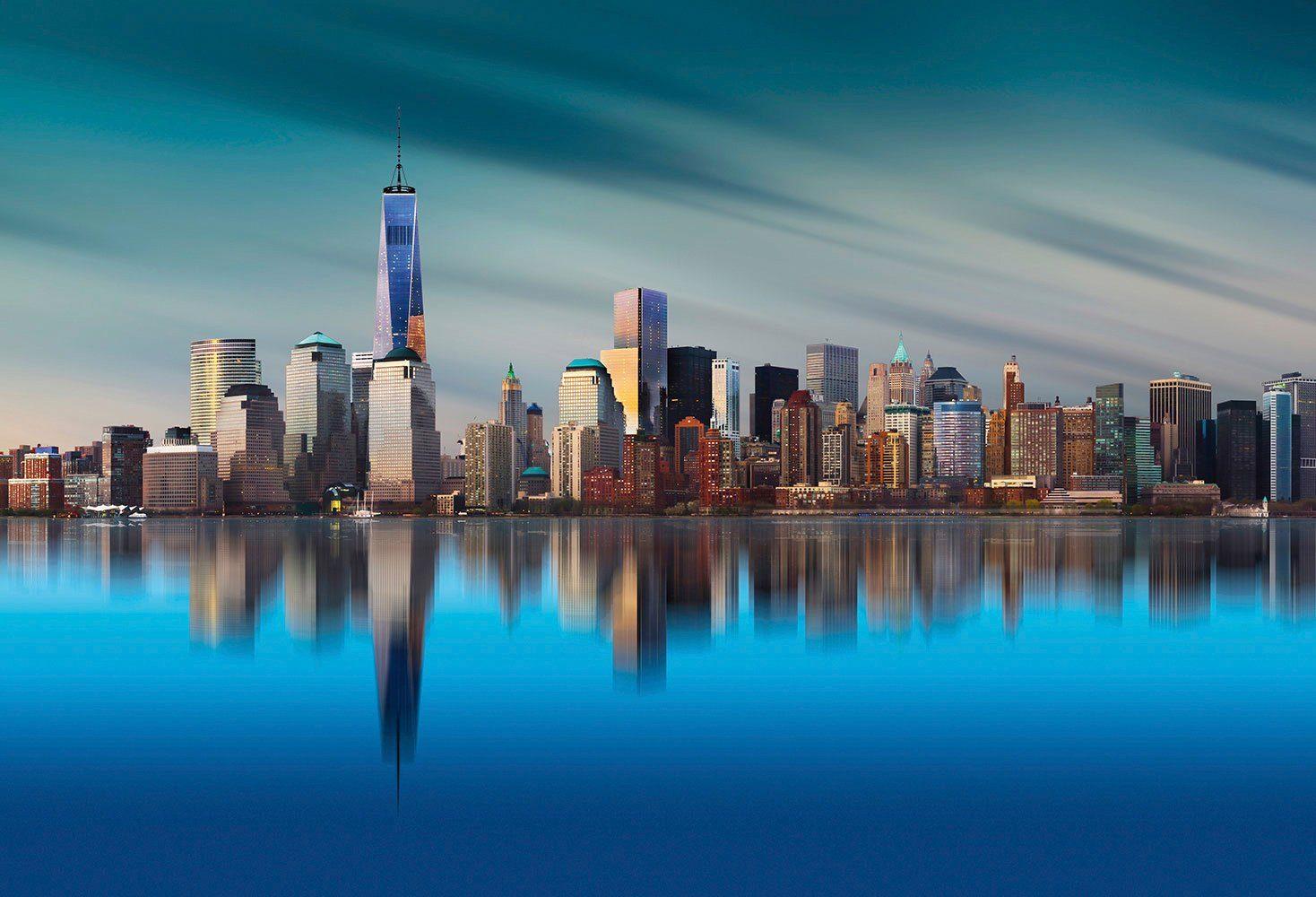 IDEALDECOR Fototapete »New York WTC«