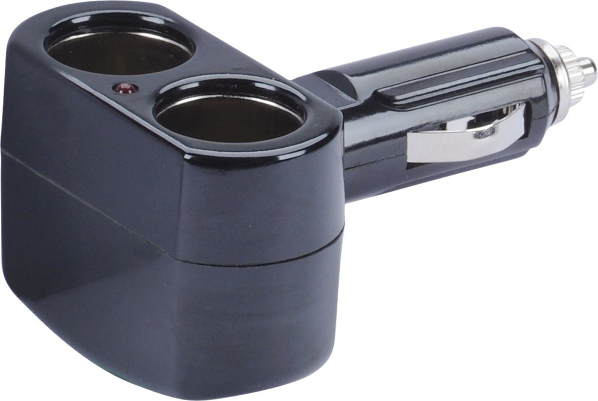 Lader »2-fach Zigarettenanzünder-Adapter (gewinkelt)«