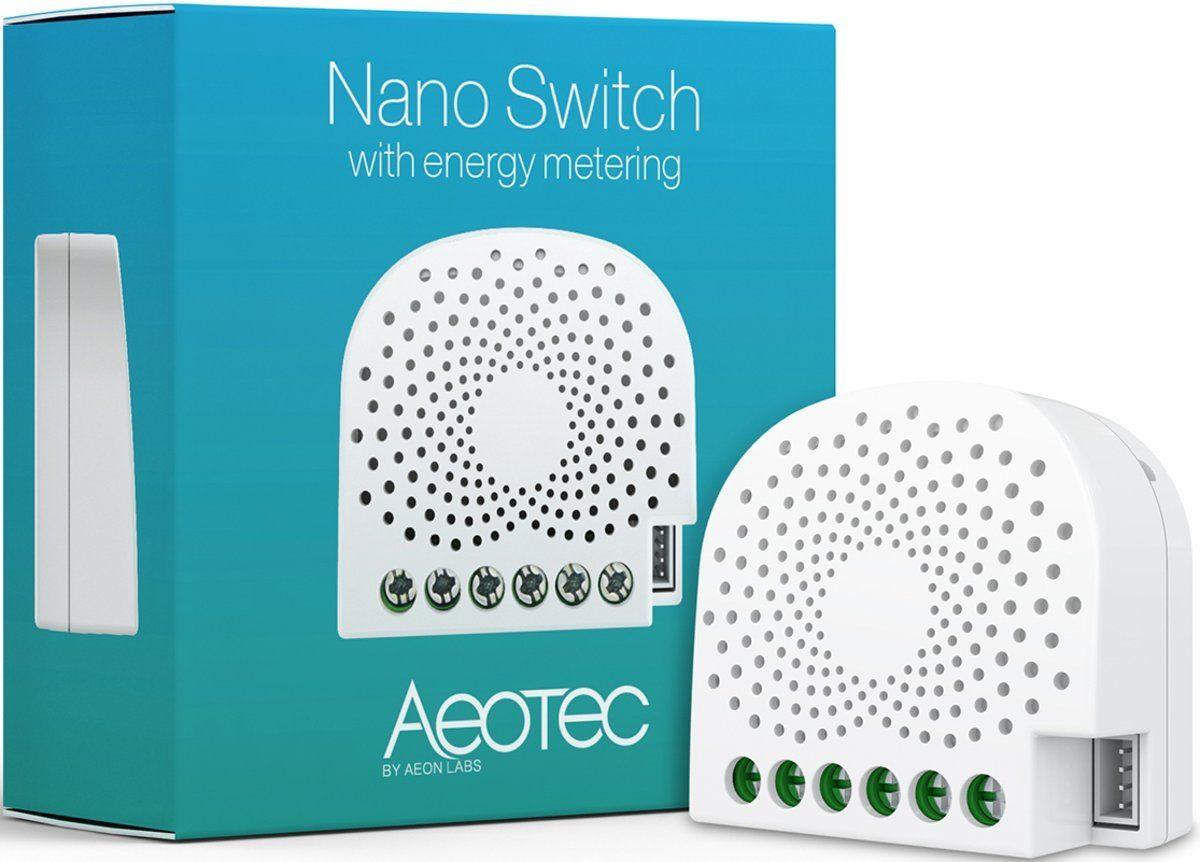 Z-Wave Smart Home Zubehör »Nano Switch mit Energiemessfunktion - Z-Wave Plus«