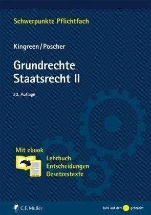 Broschiertes Buch »Grundrechte. Staatsrecht II«