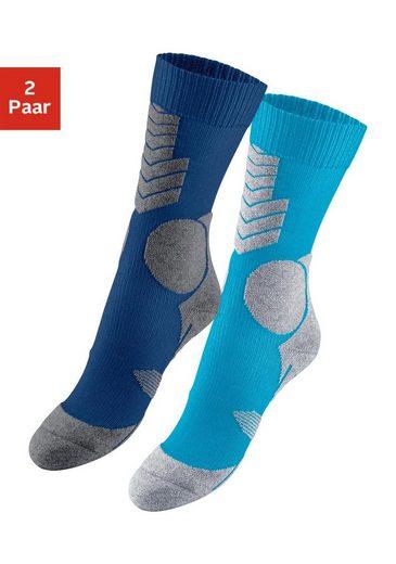 Banc. Chaussettes De Sport Longues (2 Paires)