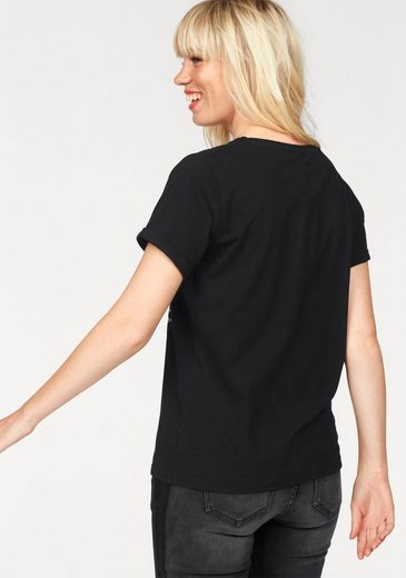 eksept T-Shirt BAR TOP, mit Frontprint