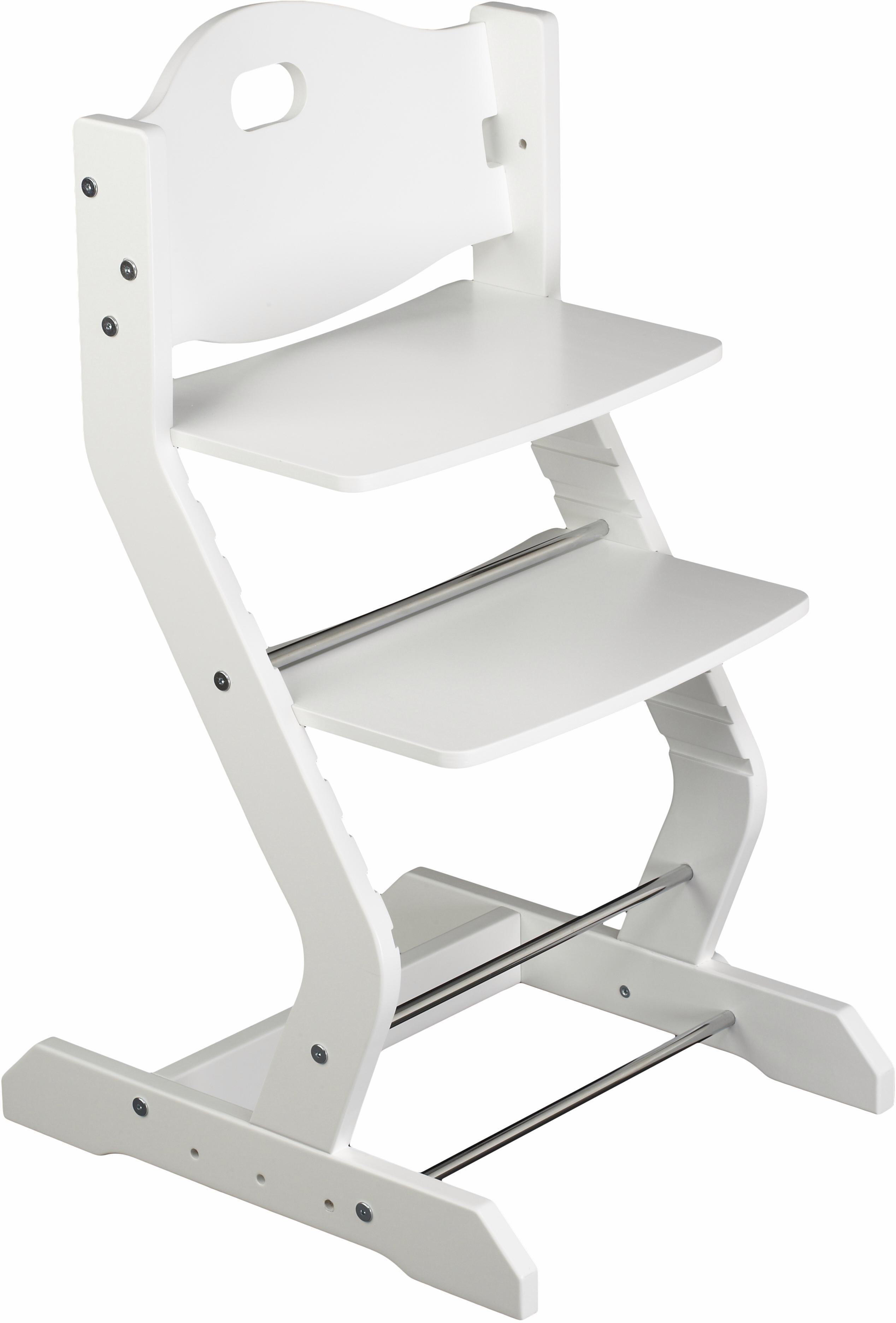 tiSsi® Hochstuhl aus Holz, »Grundgestell Buche Weiß«   Kinderzimmer > Kinderzimmerstühle > Hochstühle   tiSsi®