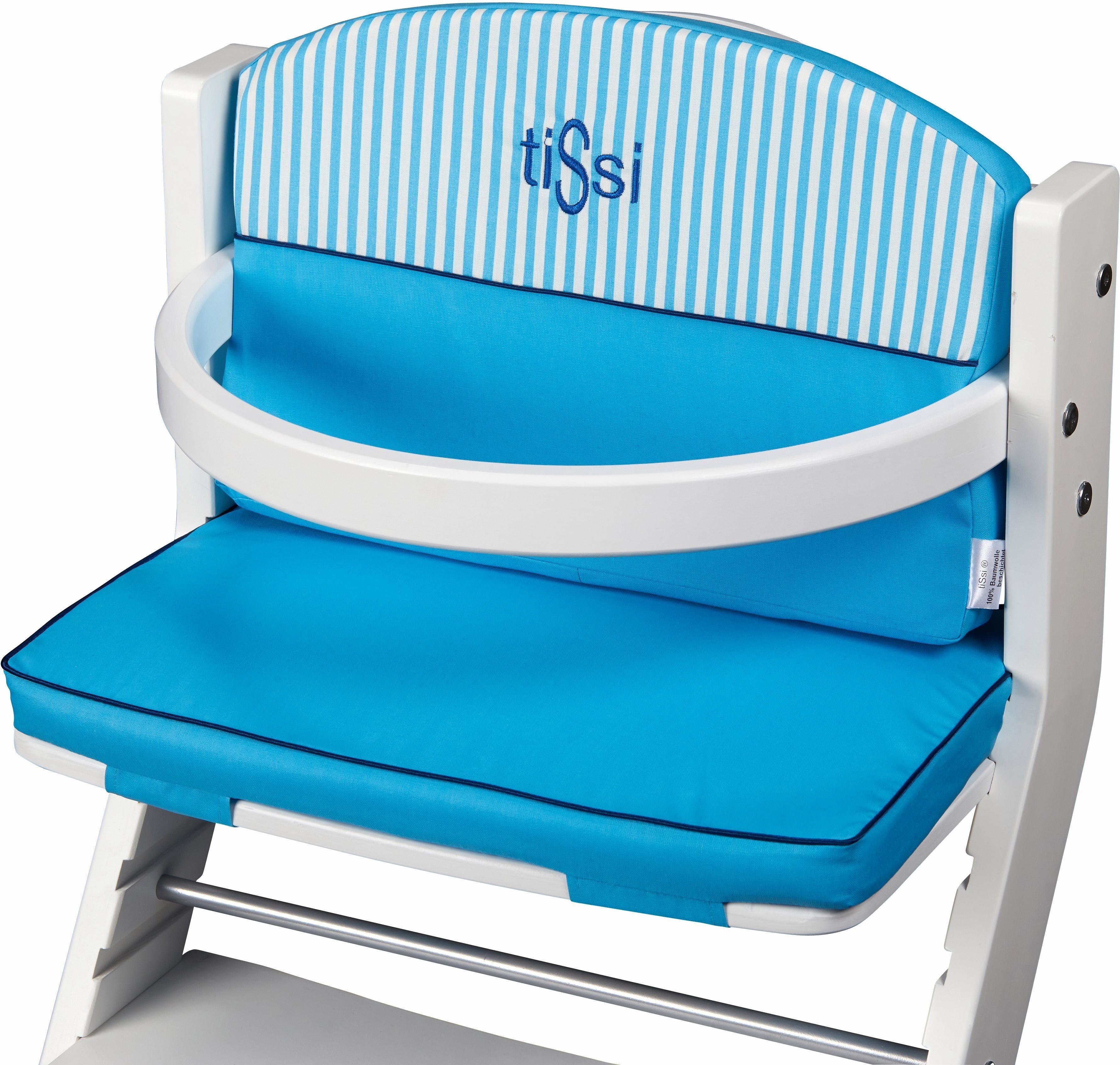 tiSsi® Sitzpolster für Hochstuhl, »Türkis«   Kinderzimmer   tiSsi®