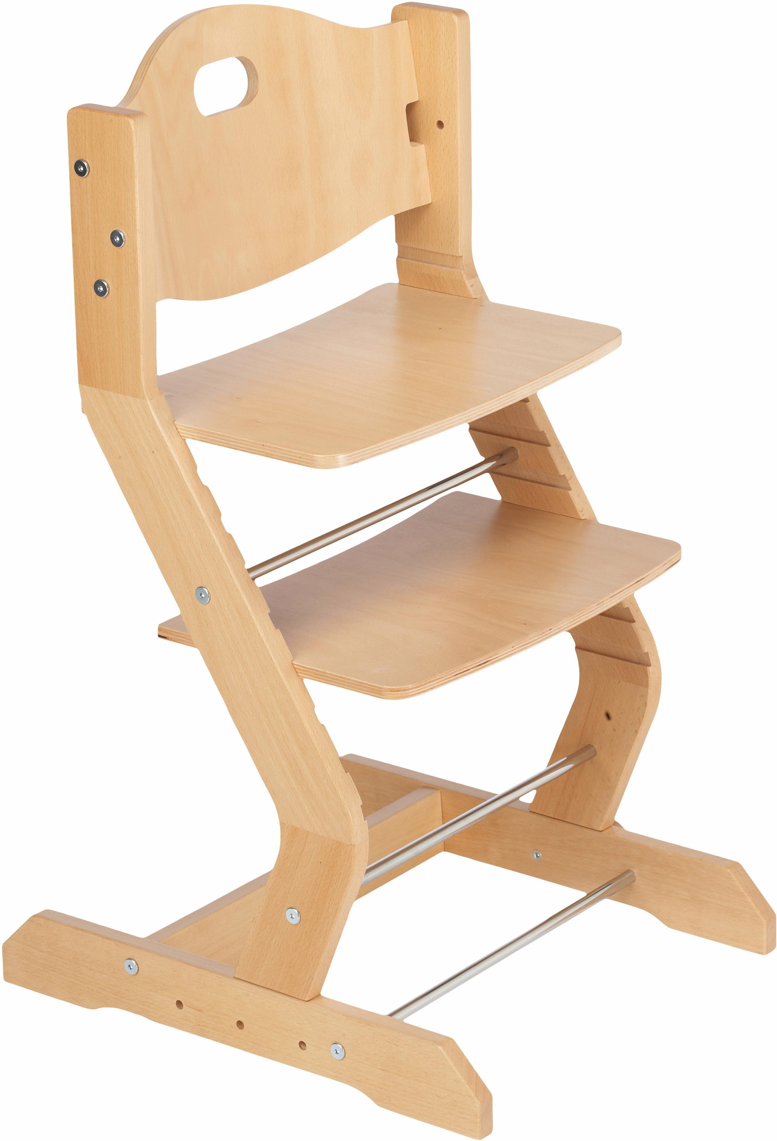 tiSsi® Hochstuhl aus Holz, »Grundgestell Buche Natur«   Kinderzimmer > Kinderzimmerstühle > Hochstühle   tiSsi®