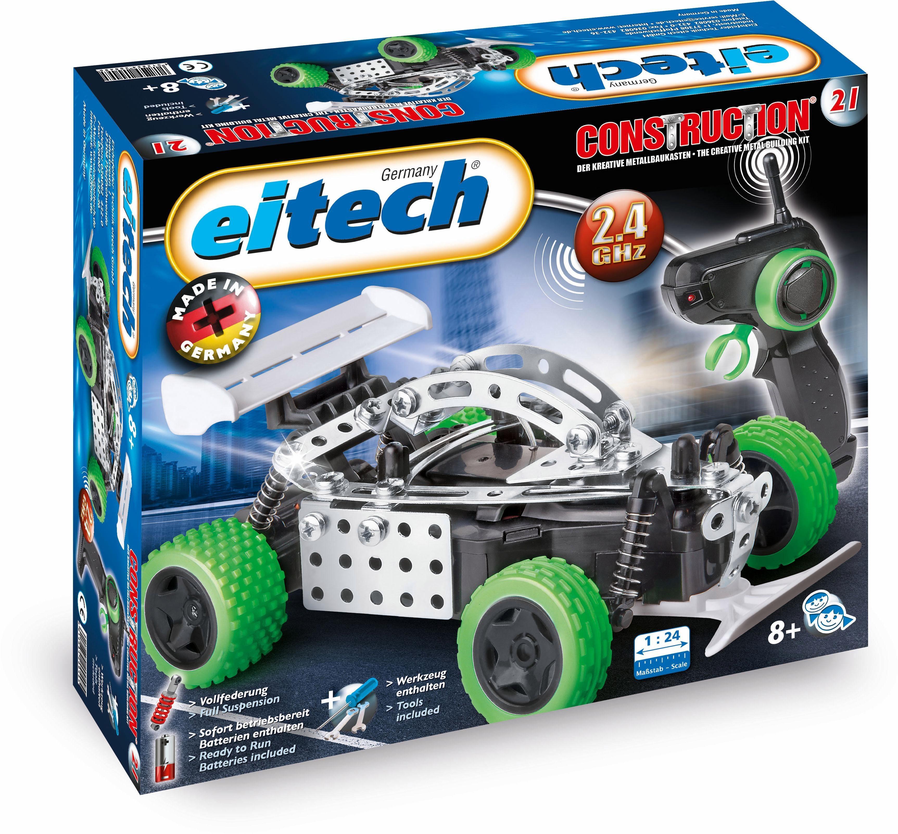 Eitech RC Fahrzeug zum selber bauen (00021), »Speed Racer, 2,4 GHz, 1:24«