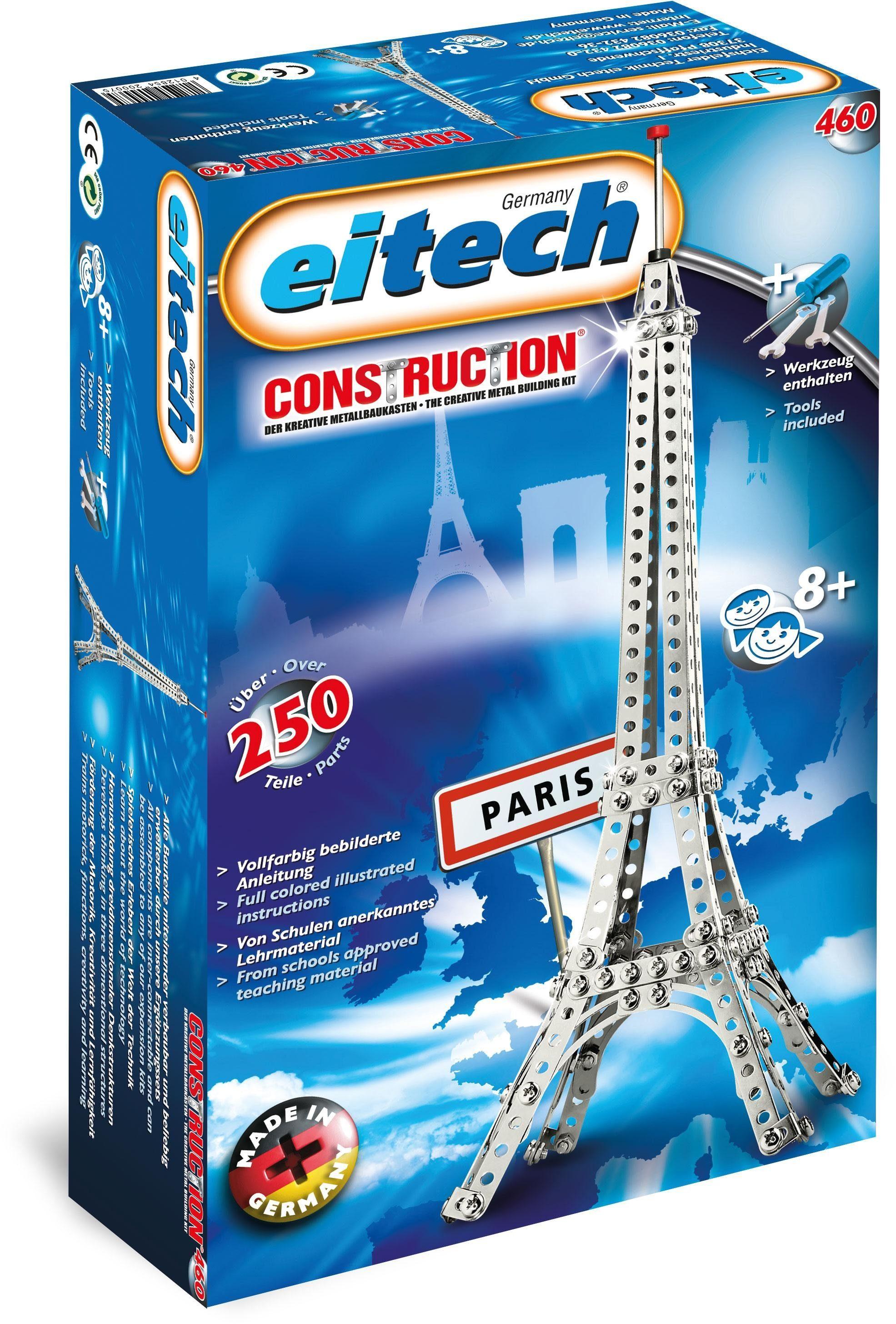 Eitech Metallbaukasten (00460), »Eiffelturm Basic«