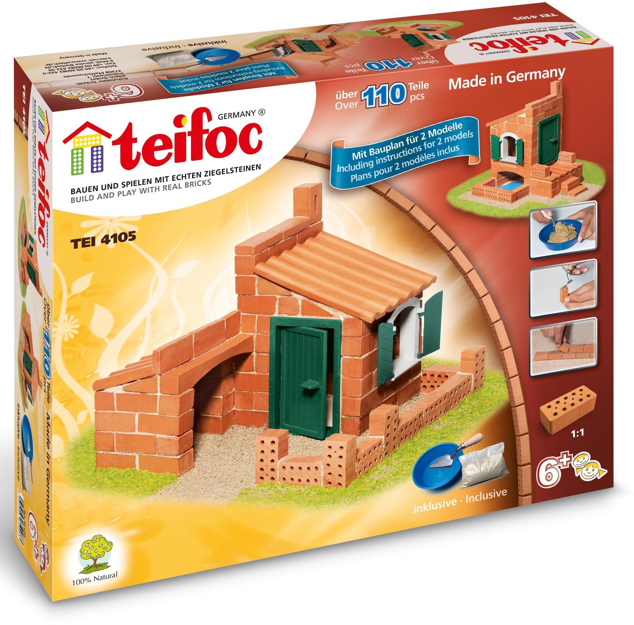 Teifoc Steinbaukasten (TEI 4105), »Häuser«