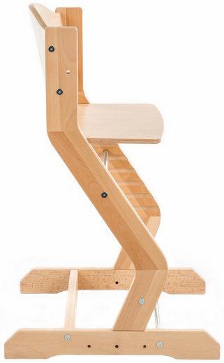 tiSsi® Hochstuhl »Grundgestell Buche Natur« aus Holz
