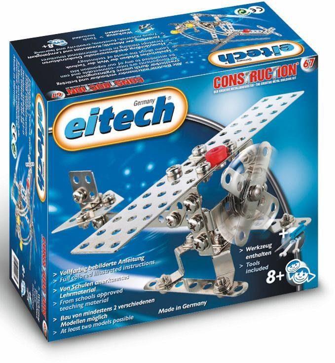Eitech Metallbaukasten (00067), »Flugzeug«