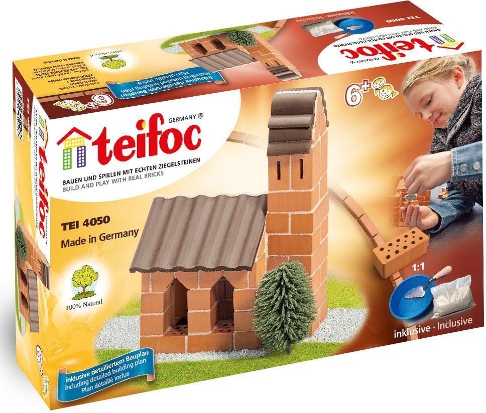 Teifoc Steinbaukasten (TEI 4050), »Kirche«