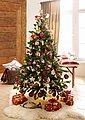 INGE-GLAS® Weihnachtsbaumkugel »Magic - Urban Cottage« (25 Stück), Bild 3