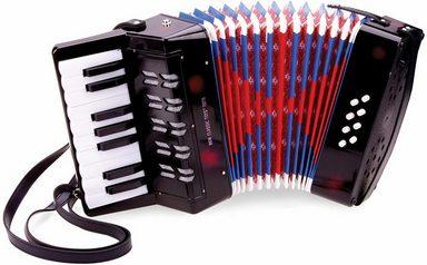 New Classic Toys® Spielzeug-Musikinstrument »Kinder-Akkordeon«, 27 Tasten