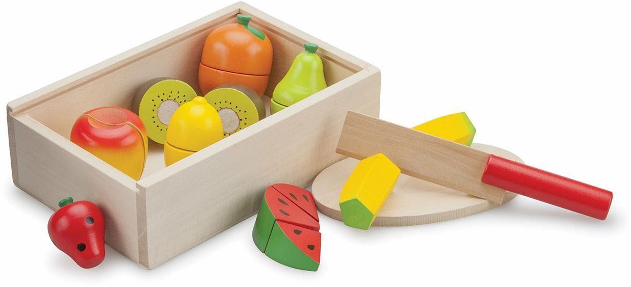 New Classic Toys Holzspielset (10581), »Schneideset Früchte«