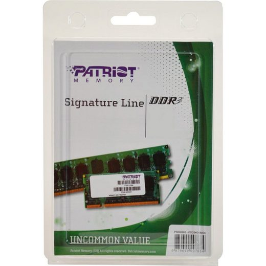 Patriot »SO-DIMM 8 GB DDR3-1600, PSD38G16002S« Arbeitsspeicher