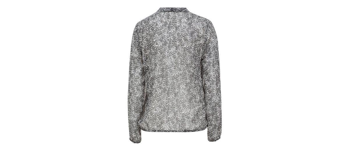 Wie Viel MORE&MORE Bluse mit schwarz/weißem Minimuster Echte Online Auslassstellen Günstiger Preis SbjCb