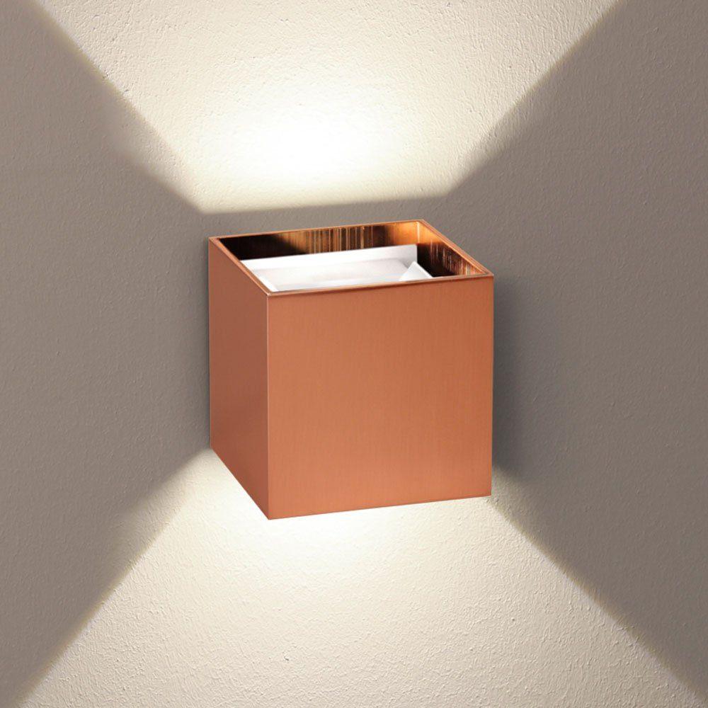 s.LUCE Wandleuchte »Ixa LED in Kupfer«