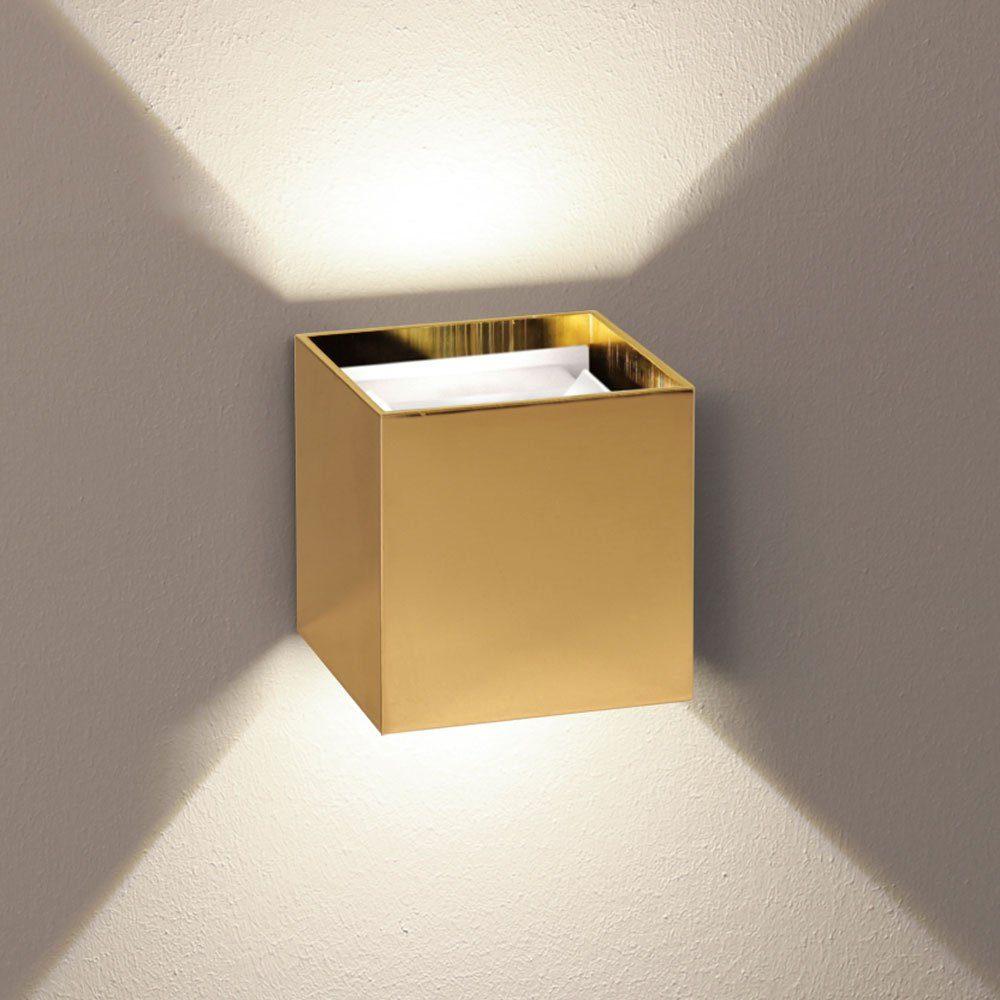 s.LUCE Wandleuchte »Ixa LED in Goldfarben«
