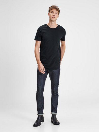 Jack & Jones Einfarbig T-Shirt mit langen Ärmeln