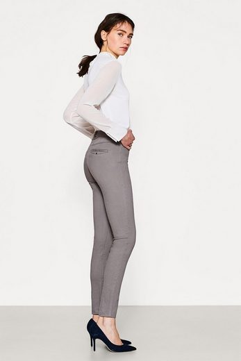 ESPRIT COLLECTION Figurformende High-Waist-Pants