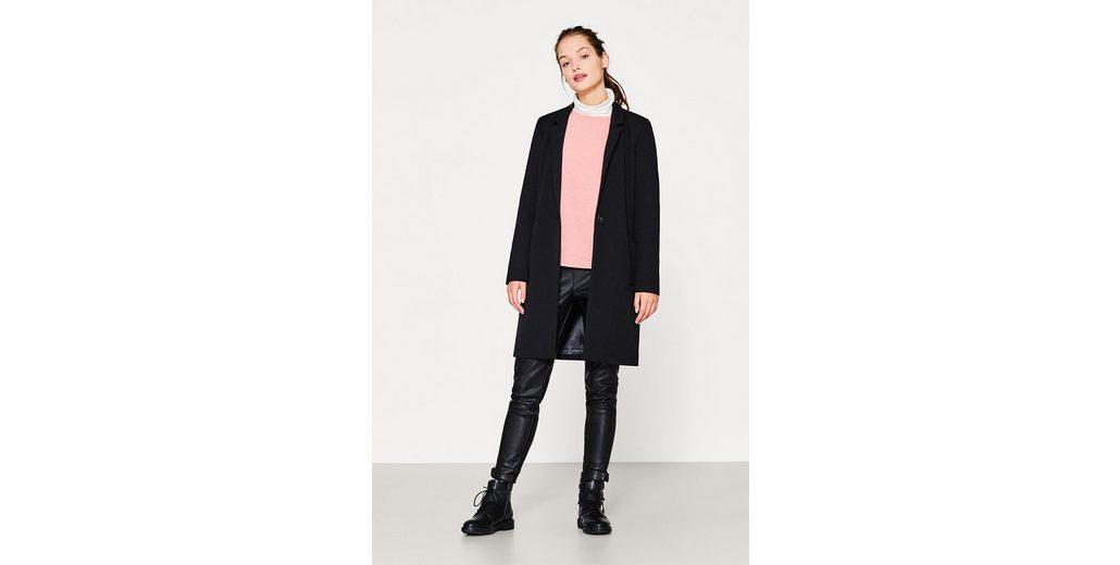 ESPRIT Besticktes Sweatshirt aus Baumwoll-Mix Günstig Kaufen Sehr Billig EkswJn