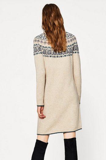 Kleid Esprit By Woll blend Jacquard Mit Edc FntqwBxB
