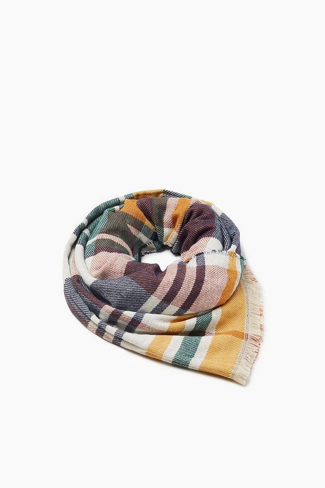 ESPRIT CASUAL Doubleface-Schal mit Fransen - Preisvergleich