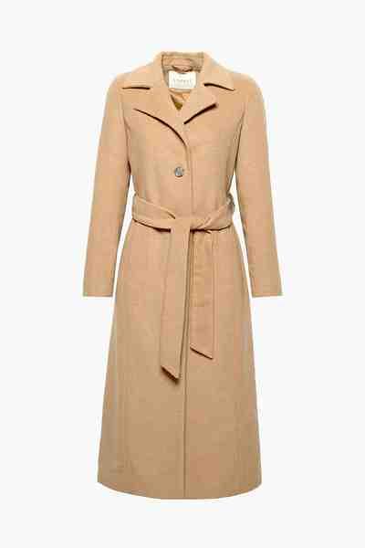 ESPRIT CASUAL Langer Mantel aus softem Woll-Mix