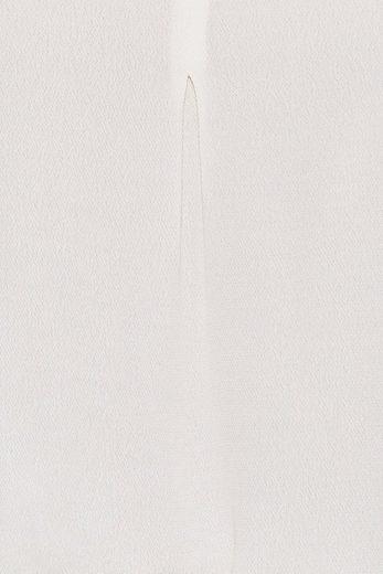 ESPRIT COLLECTION Fließende Struktur-Bluse mit Volumenärmel