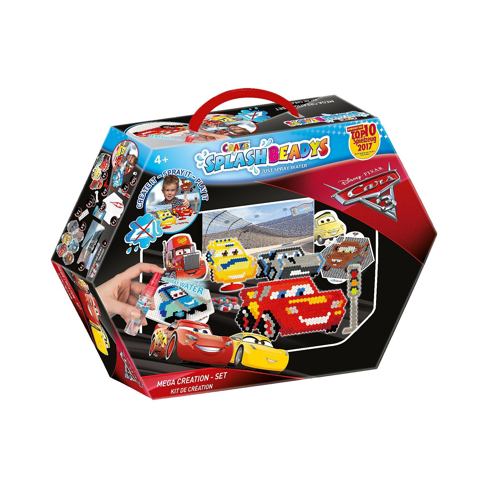 CRAZE Splash Beadys Cars Creation Set