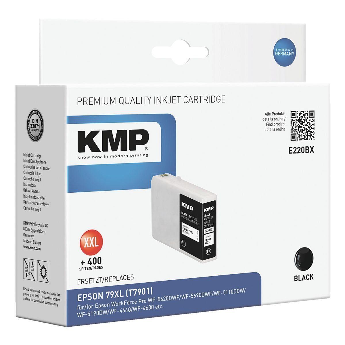 KMP Tintenpatrone ersetzt Epson Nr. 79XL »T7901«