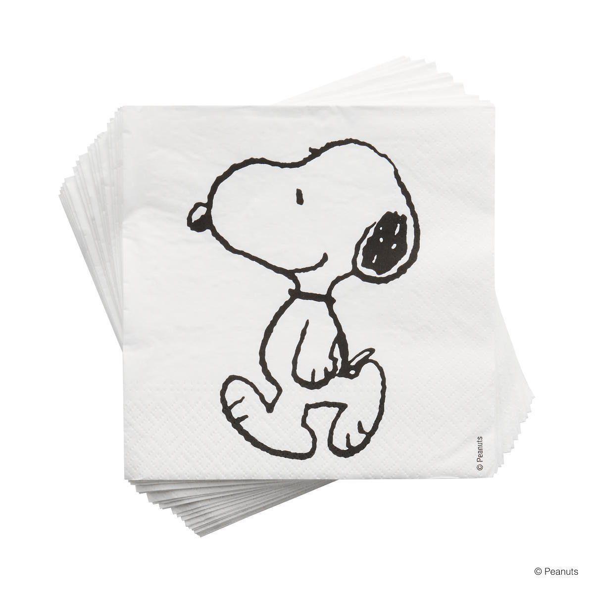 BUTLERS PEANUTS »Papierserviette Snoopy«