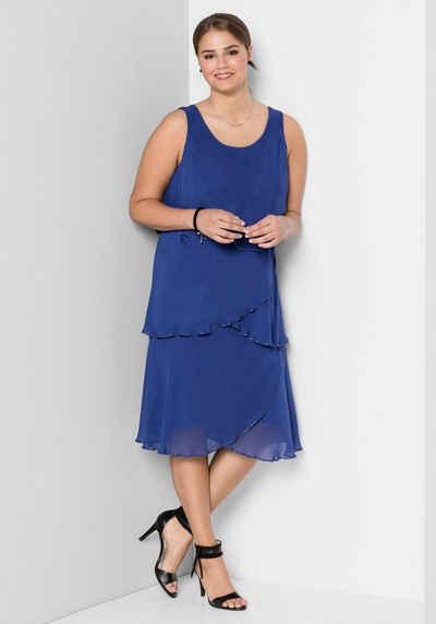 94bf5fa31a2 Cocktailkleid in blau online kaufen