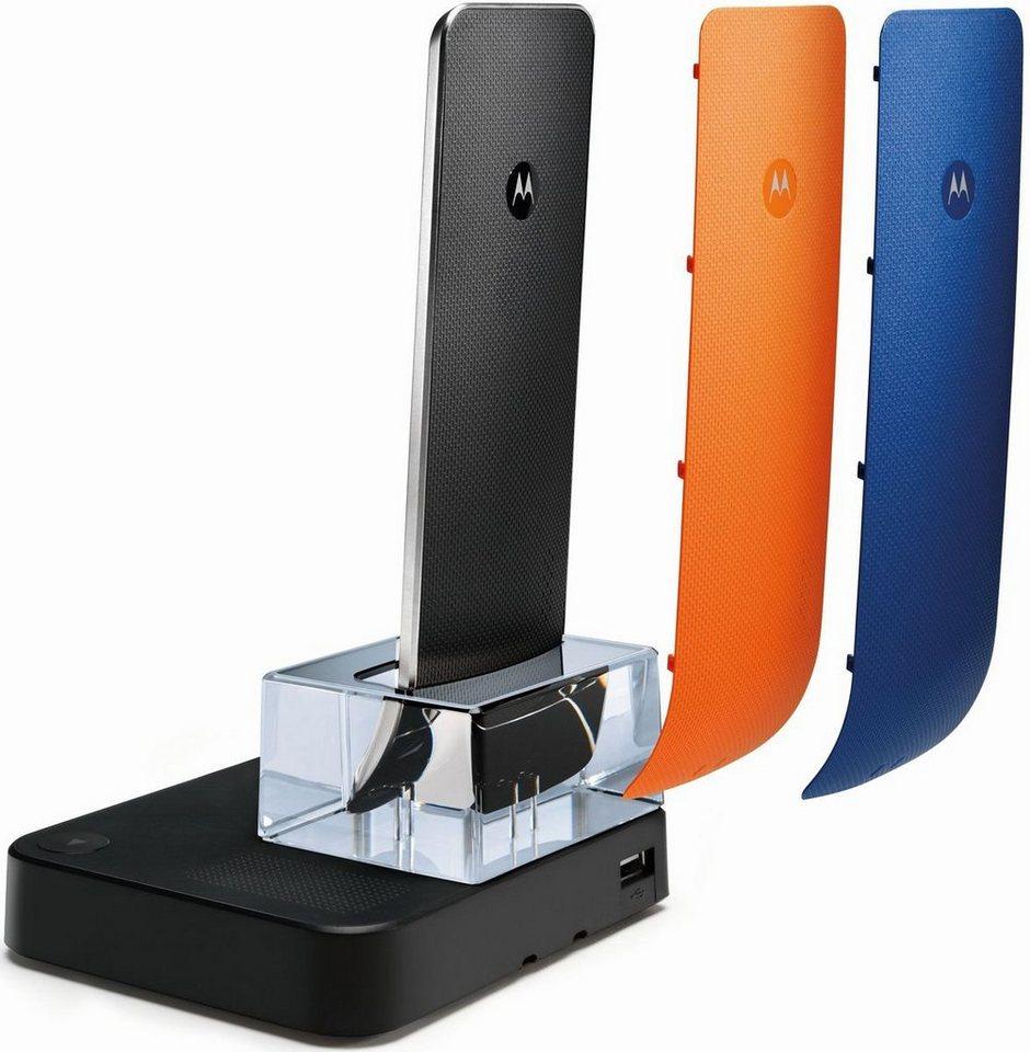 motorola telefon analog schnurlos it 6 1t white crystal. Black Bedroom Furniture Sets. Home Design Ideas