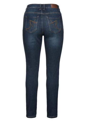 sheego Denim Stretch-Jeans, Super elastisches Power-Stretch-Material