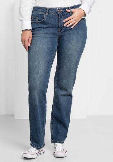 Sheego Stretch-Jeans 5-Pocket-Stil