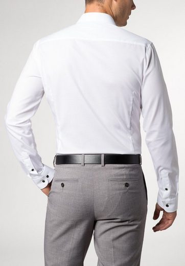 ETERNA Langarm Hemd SUPER-SLIM Stretch unifarben
