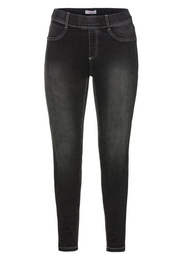 sheego Denim Jeansjeggings, Power-Stretch-Qualität