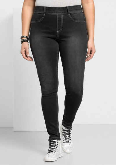 Sheego Jeansjeggings Power Stretch Qualität