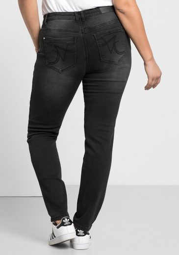 sheego Denim Stretch-Jeans, Power-Stretch-Qualität