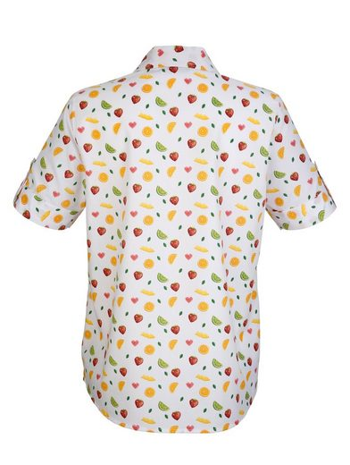 Dress In Blouse With Summery Fruits Dessin
