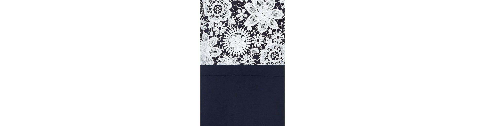 Y by Yumi Spitzenkleid Ellen, mit weißer floraler Spitze